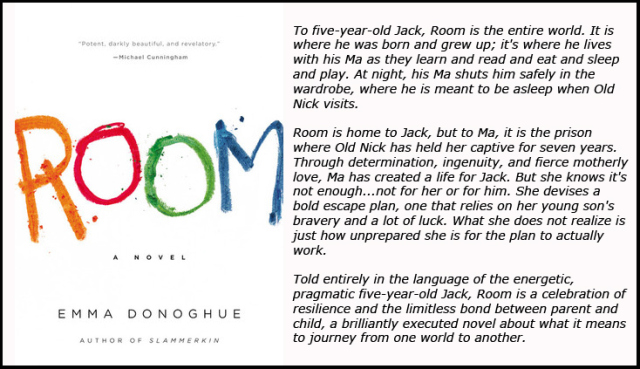 essay room emma donoghue Everything about emma donoghue's room sounds mawkish and sadistic,but it's one the most affecting and subtly profound novels of the year.